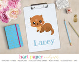 Otter Personalized Clipboard School & Office Supplies - Everything Nice