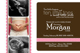 In Love Photo Baby Shower Invitation • Any Colors Baby Shower Photo Invitations - Everything Nice