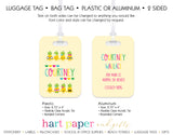 Pineapple Luggage Bag Tag School & Office Supplies - Everything Nice
