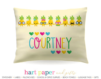 Pineapple Personalized Pillowcase Pillowcases - Everything Nice
