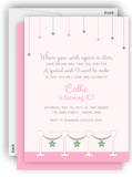Stars & Pink Carpet Birthday Party Invitation • Any Colors