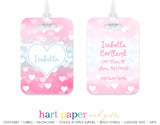 Heart Luggage Bag Tag School & Office Supplies - Everything Nice
