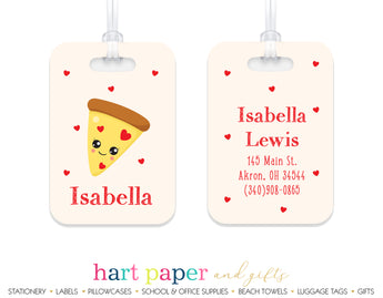 Pizza Luggage Bag Tag School & Office Supplies - Everything Nice
