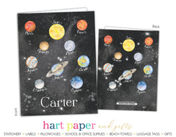Planets Personalized 2-Pocket Folder