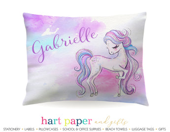 Pony Horse Personalized Pillowcase Pillowcases - Everything Nice
