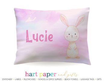 Bunny Rabbit Personalized Pillowcase Pillowcases - Everything Nice