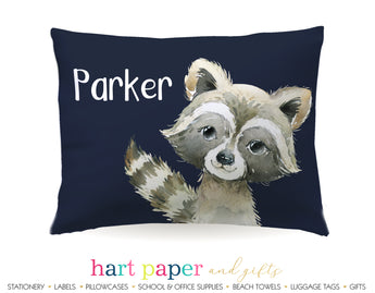 Raccoon Personalized Pillowcase Pillowcases - Everything Nice