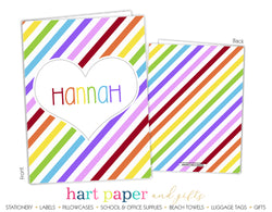 Rainbow Stripes 2-Pocket Folder