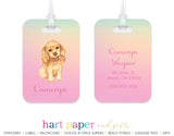 Rainbow Dog Luggage Bag Tag School & Office Supplies - Everything Nice