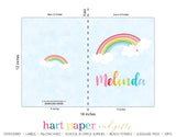 Rainbow Personalized 2-Pocket Folder School & Office Supplies - Everything Nice