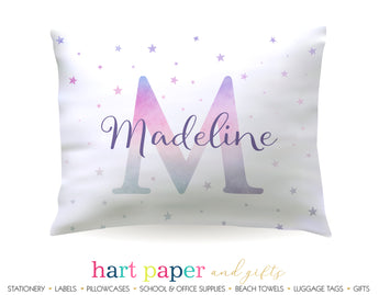 Name Initial Personalized Pillowcase Pillowcases - Everything Nice