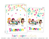 Music Band Personalized 2-Pocket Folder School & Office Supplies - Everything Nice