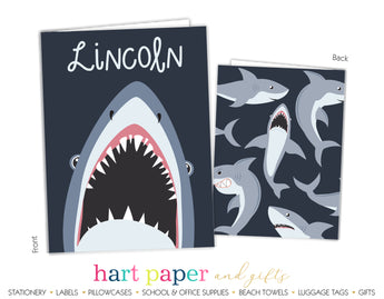 Shark Personalized 2-Pocket Folder School & Office Supplies - Everything Nice