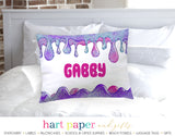 Slime Personalized Pillowcase Pillowcases - Everything Nice