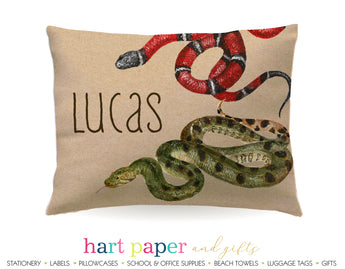 Snakes Personalized Pillowcase Pillowcases - Everything Nice