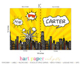 Superhero Personalized 2-Pocket Folder