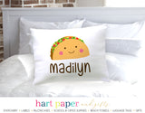 Taco Personalized Pillowcase Pillowcases - Everything Nice
