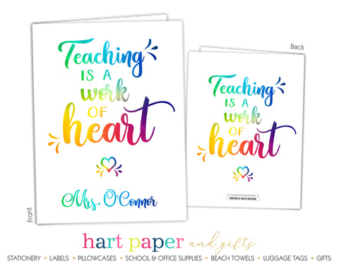 Teacher Personalized 2-Pocket Folder School & Office Supplies - Everything Nice