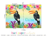 Toucan Bird Personalized Notebook or Sketchbook School & Office Supplies - Everything Nice