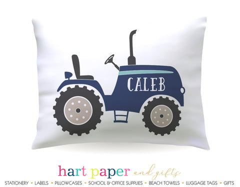 Tractor Personalized Pillowcase Pillowcases - Everything Nice