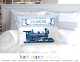 Train Personalized Pillowcase Pillowcases - Everything Nice