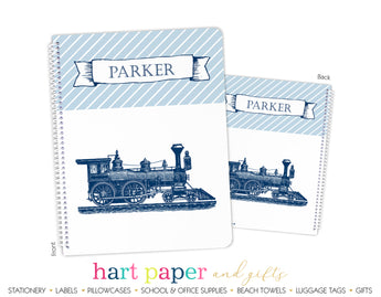 Train Personalized Notebook or Sketchbook