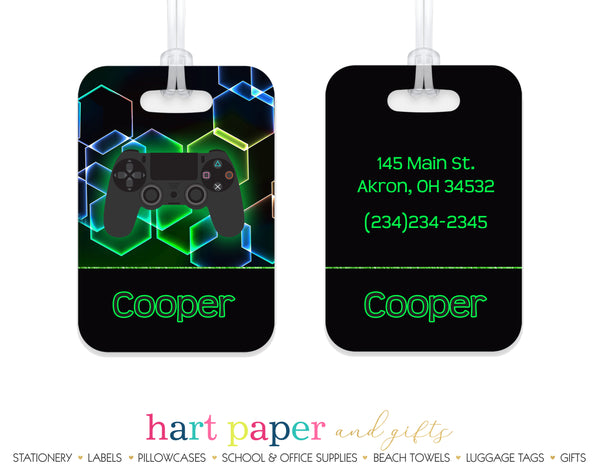 Video Game Luggage Bag Tag