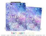 Stars Moon Personalized Clipboard School & Office Supplies - Everything Nice