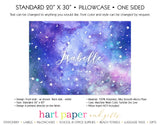 Galaxy Stars Space Celestial Personalized Pillowcase Pillowcases - Everything Nice