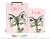 Wolf Personalized Clipboard School & Office Supplies - Everything Nice