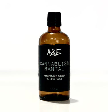 Cannabliss Santal Aftershave Splash & Skin Food