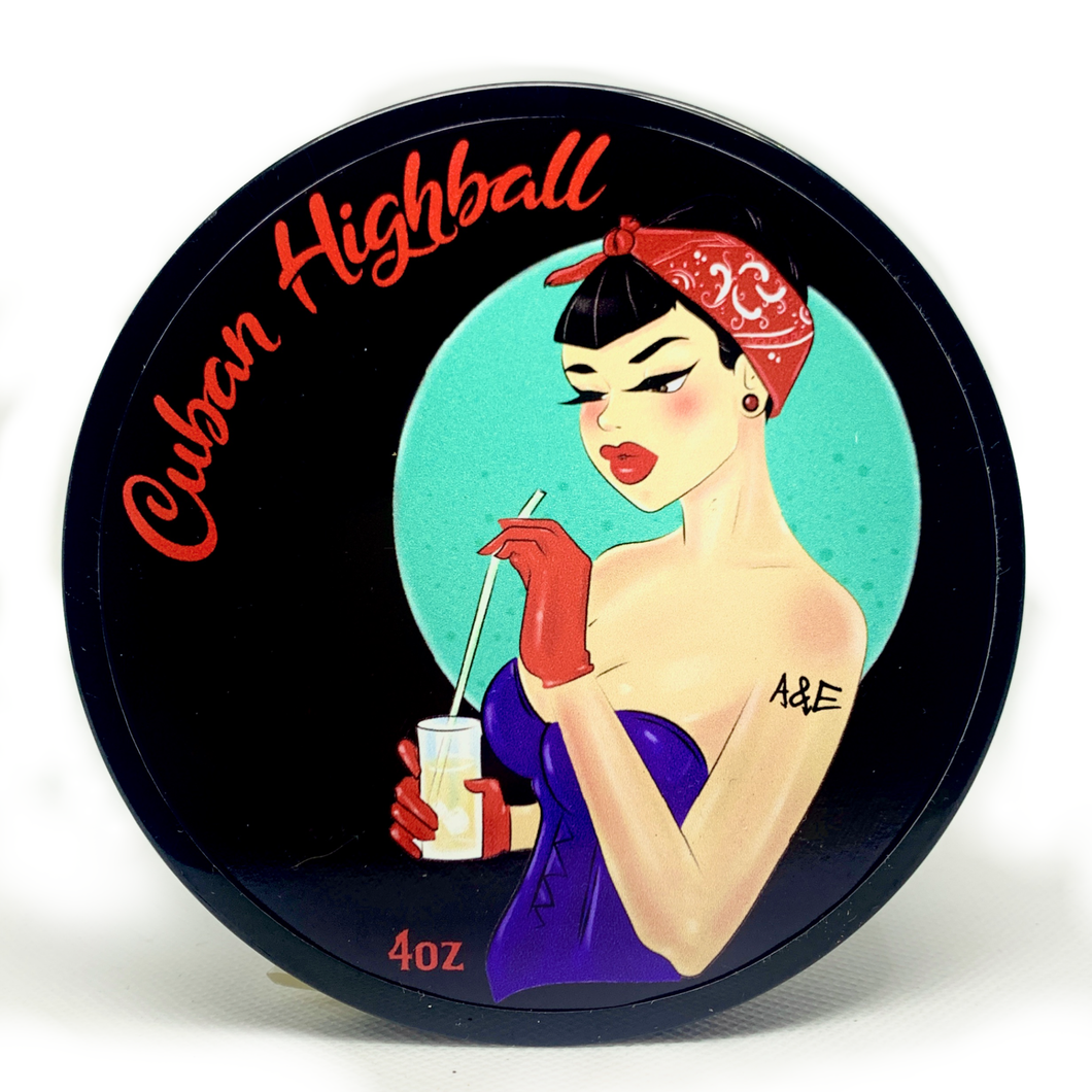 Cuban Highball Shaving Soap