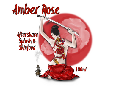 Amber Rose Aftershave Splash & Skin Food