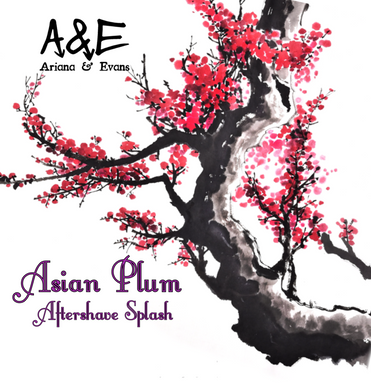 Asian Plum Aftershave & Skin Food