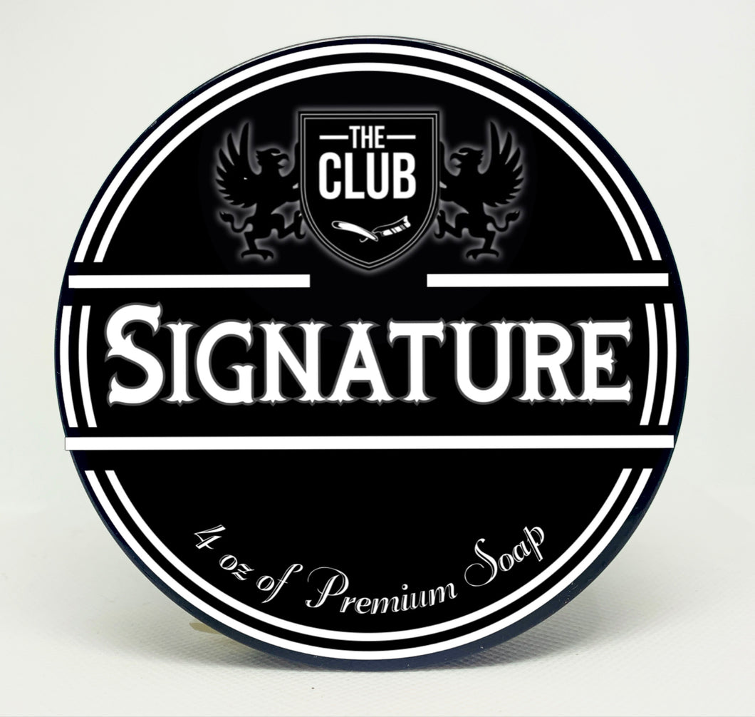 The Club 'Signature' Shaving Soap