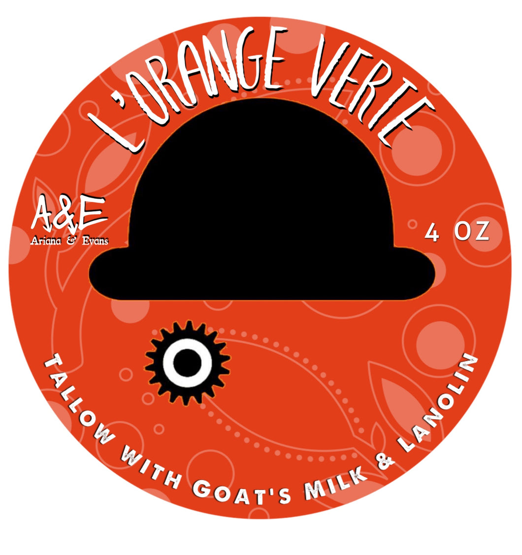 L' Orange Verte Shaving Soap for VIP Members
