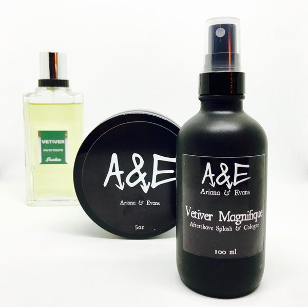 Vetiver Magnifique Aftershave Splash-Market Place-Ariana & Evans-The Shaving Shop Club