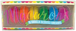 Macarons Vanilla Scented Erasers - Magnolia Jewels & More