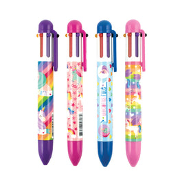 Unique Unicorns 6 Click Multi Color Pen - Magnolia Jewels & More