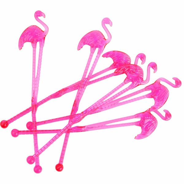 Flamingo Cocktail Stirrers - Magnolia Jewels & More