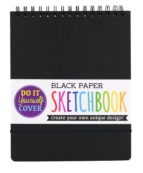 Black Paper Sketchbook - Magnolia Jewels & More