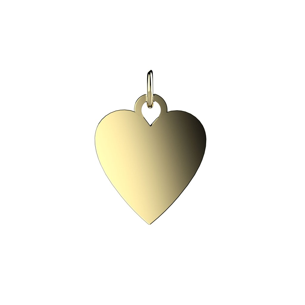EACH Jewelry - Vermeil Heart Charm