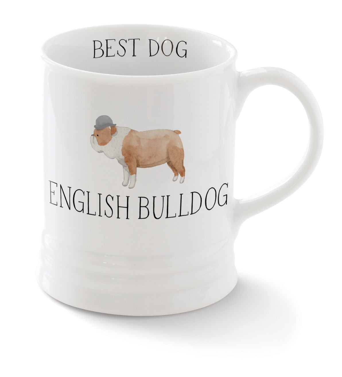 Fringe English Bulldog Coffee Mug - Magnolia Jewels & More