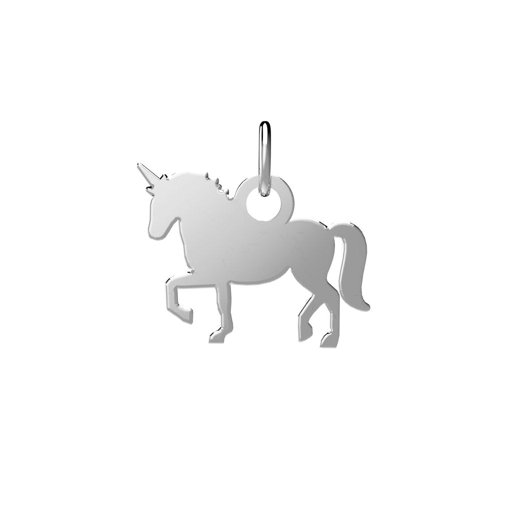 EACH Jewelry - Unicorn Charm | .925 Sterling Silver