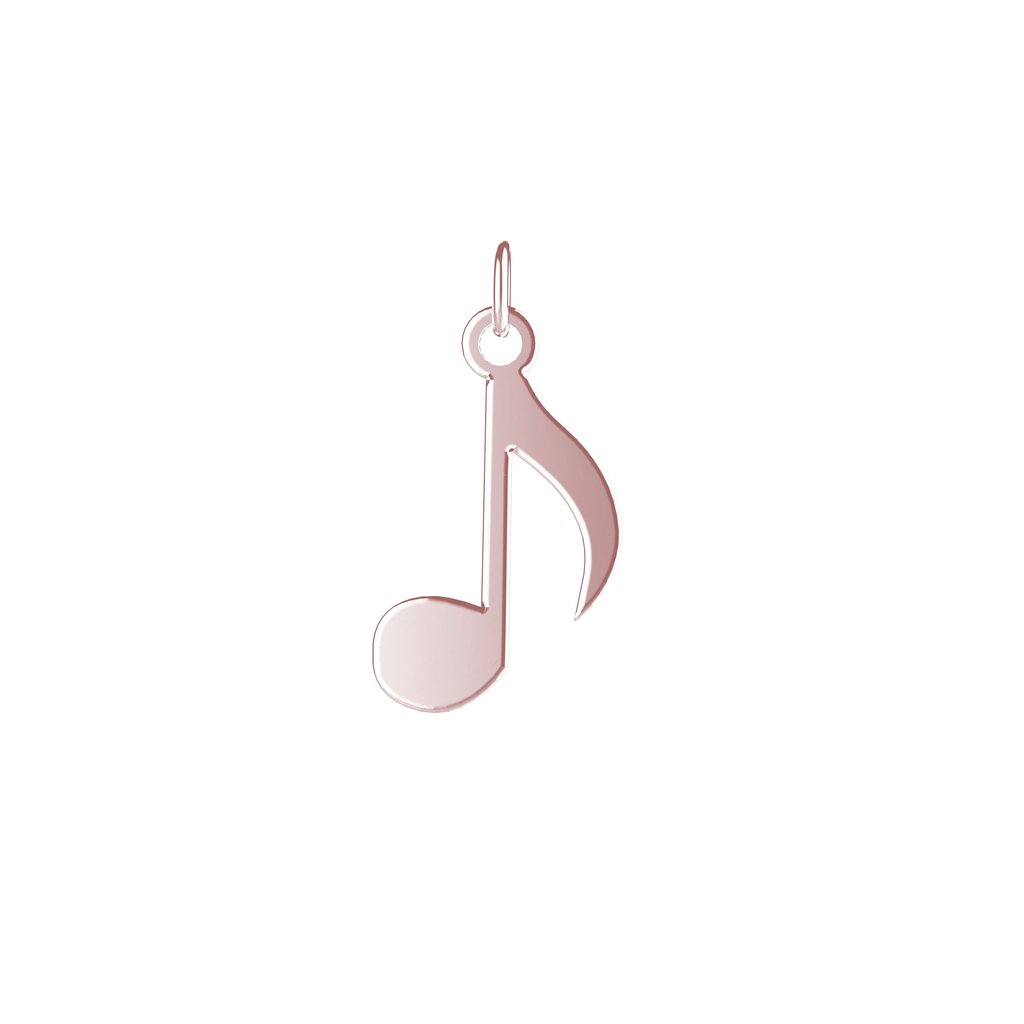 EACH Jewelry - Musical Note Charm | Vermeil