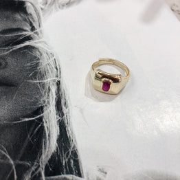 Stone Pinky Ring - Magnolia Jewels & More
