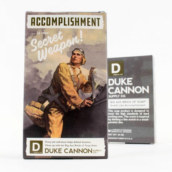 Limited Edition WWII - Big ass Brick of Soap - Accomplishment - Magnolia Jewels & More