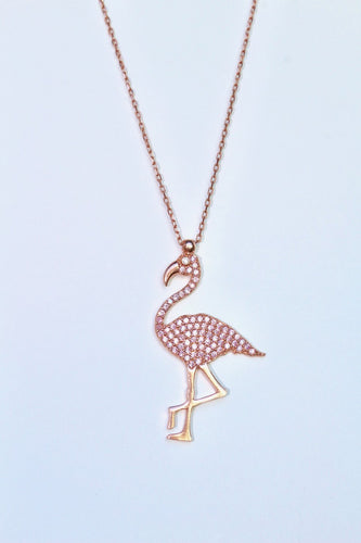 Miami Flamingo Necklace