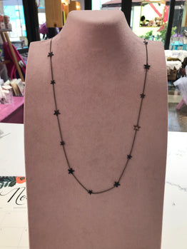 All Over Stars Long Necklaces