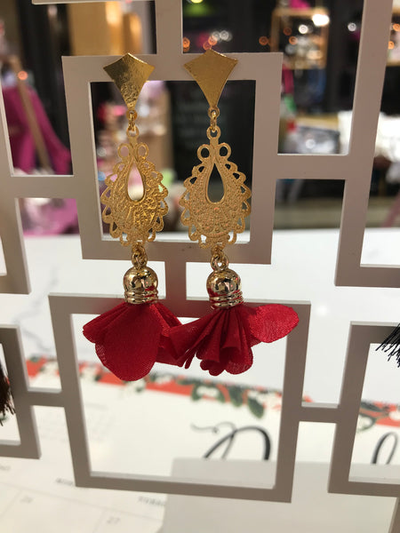 Colombia Rose Earring